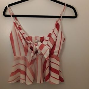 BNWT adorable pink/red Princess Polly Tank